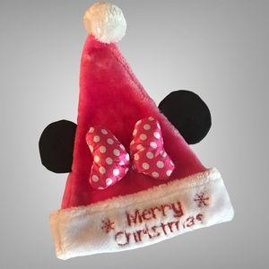 Merry Christmas Minnie Santa Hat